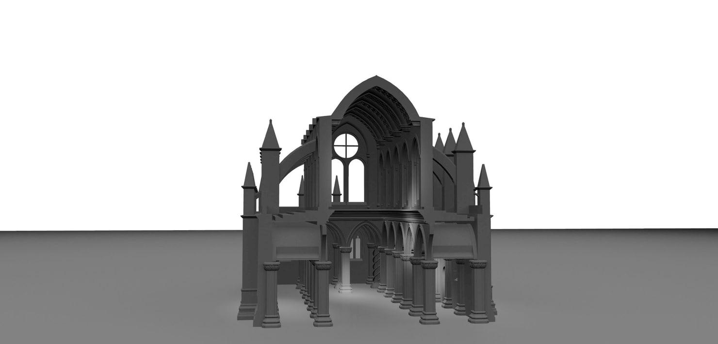 rosslyn chapel model