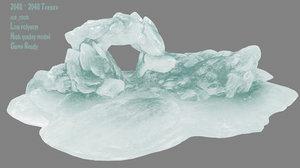 3D cave model