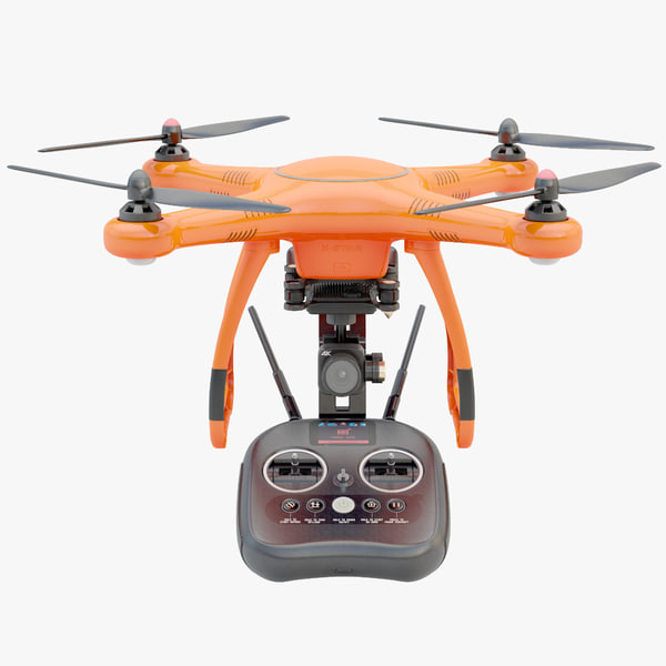 3D model autel robotics drone modeled