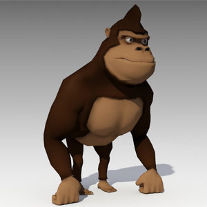 gorilla animations 3D