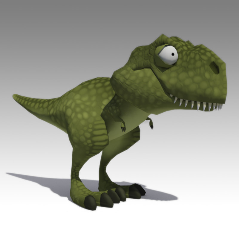 rex animations model