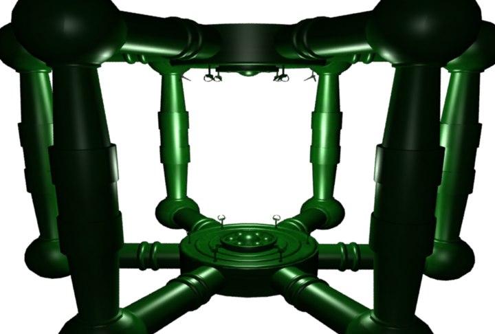 3D original xbox boot scene model