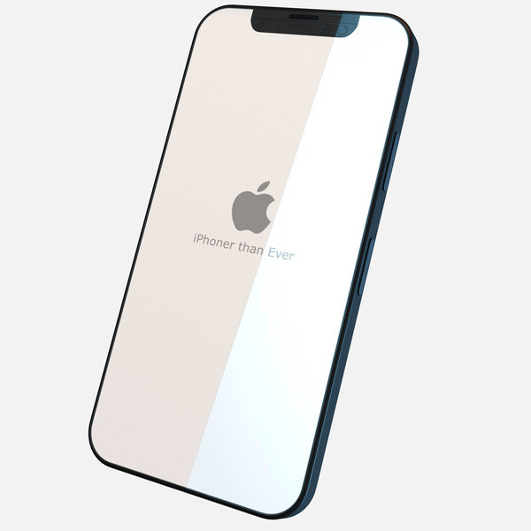 concept iphone 8 phone 3D
