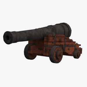 vessel cannon 3D