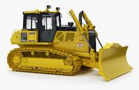 3D komatsu d65pxi-18 crawler dozer model
