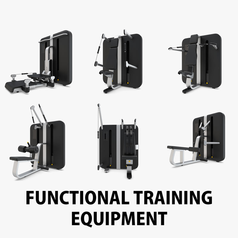 3D functional training gym equipment
