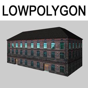 building gameready 3D model