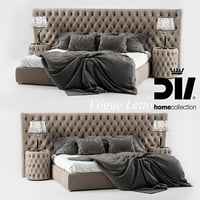 dv home vogue letto 3D model