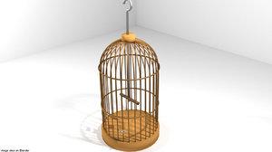 3D cage pet model