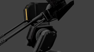 3D model robot