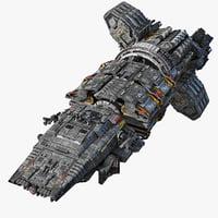 3D modular spaceship