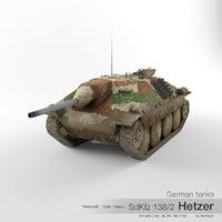 sd kfz 138 2 3D model