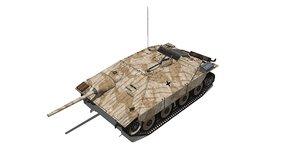 german jagdpanzer 38 hetzer model