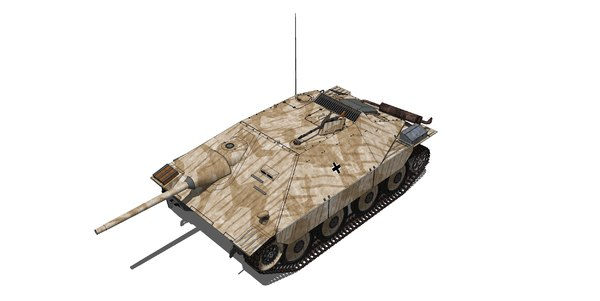 german jagdpanzer 38 hetzer model