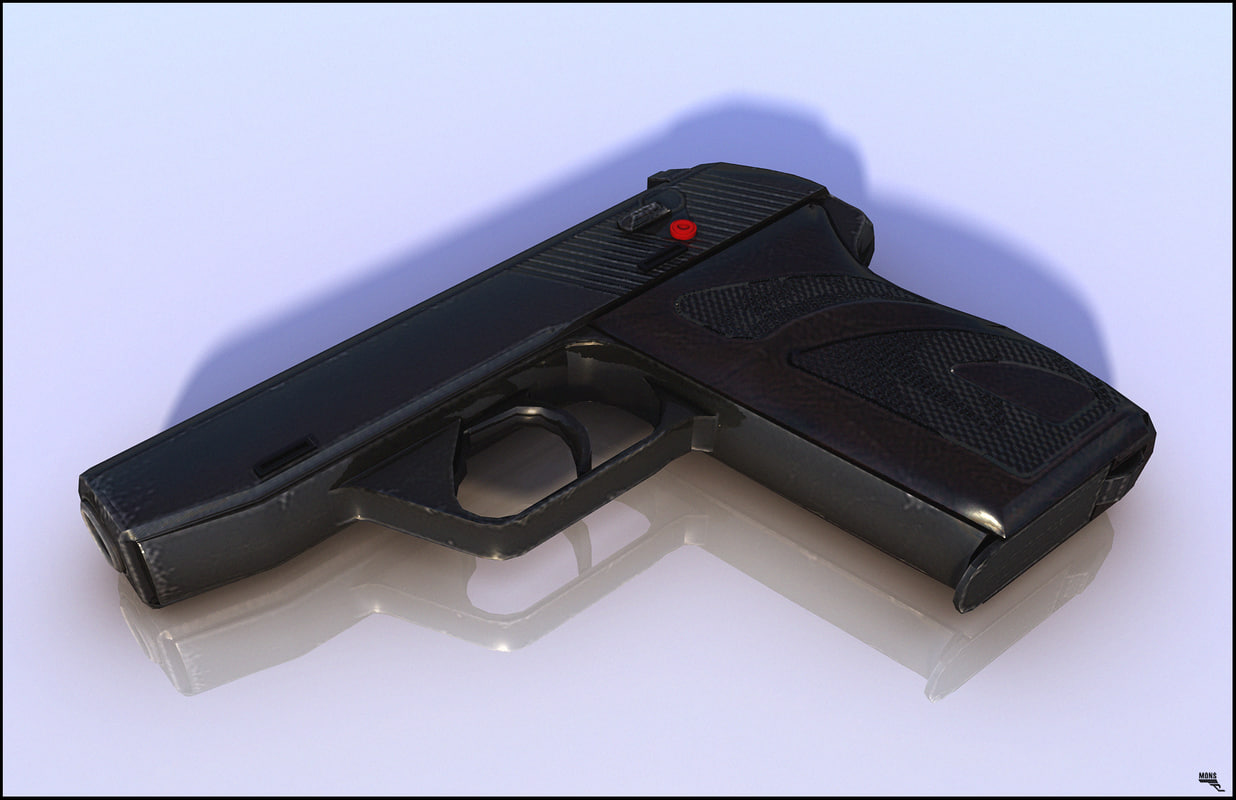 pistol 3D
