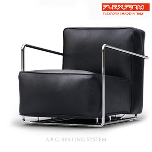 3D flexform b c chair model