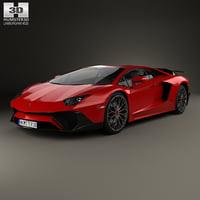 lamborghini aventador 750 3D model