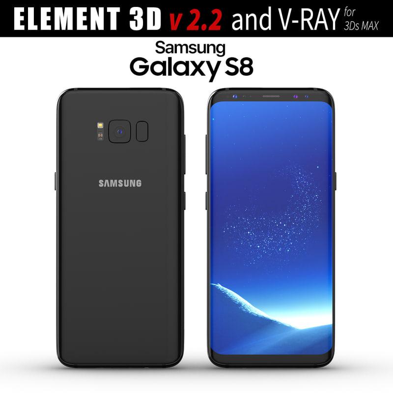 3D samsung galaxy s8