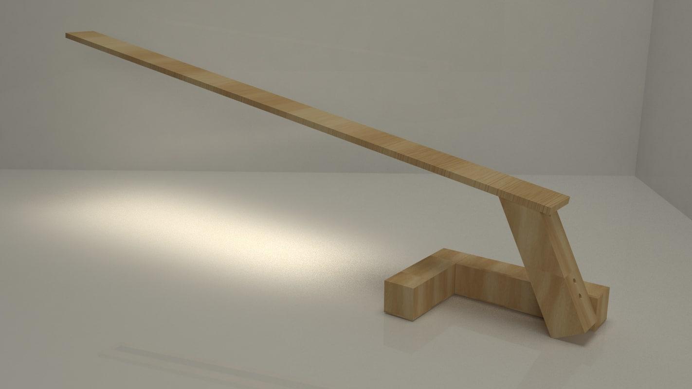 lamp design works 3D model