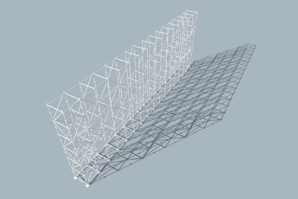 scaffold tower - layher model