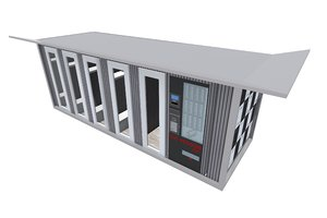 sports container 3D model
