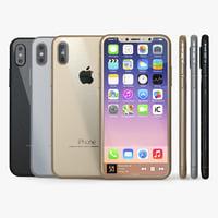 iphone 8 concept 3D