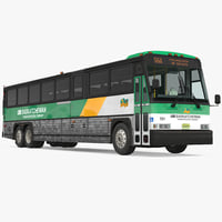 3D intercity bus mci 102dl3