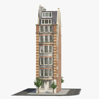 3D london building