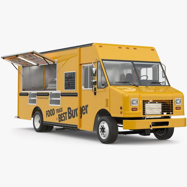 3D food truck 3