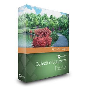 3D volume 76 trees x