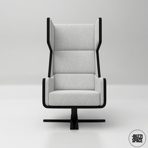 3D buzzi space buzzime lounge chair