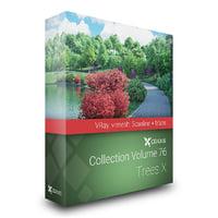 volume 76 trees x 3D