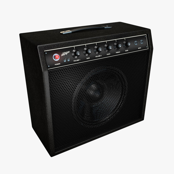 3D guitar amp