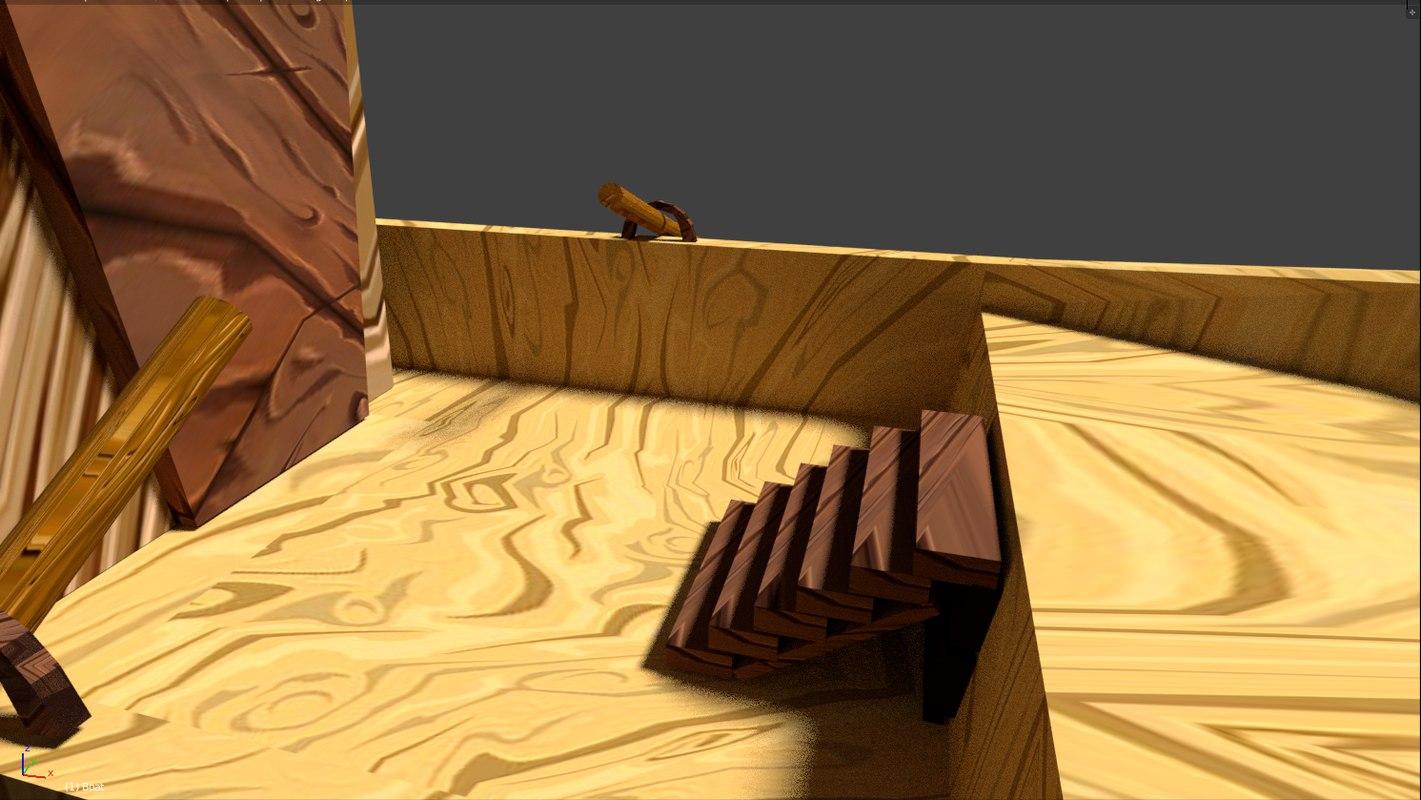 boat 3D model