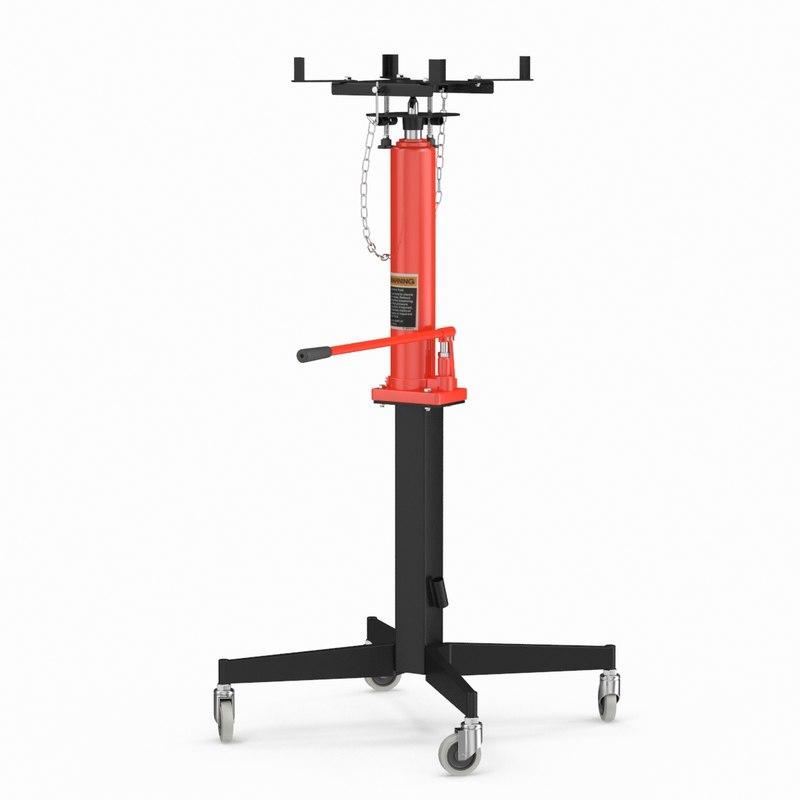 3D pedestal transmission jack