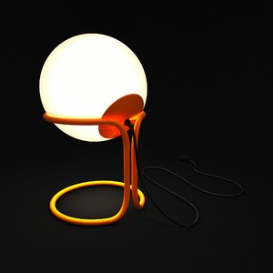 modern lamp interior lighting 3D
