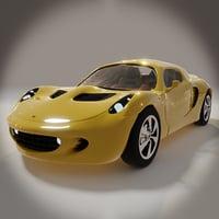 3D model elise mkii