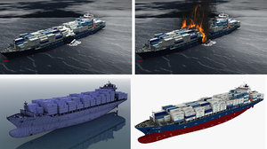 3D ship containers