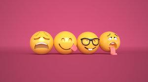 3D emoji model