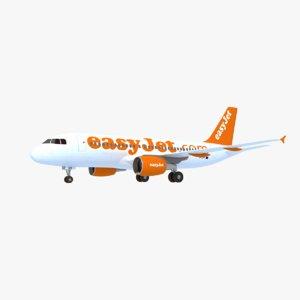 airbus a319 3D