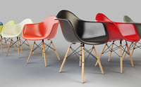 Vitra Eames - Plastic Arm Chair Daw