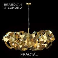 3D chandelier egmond fractal model