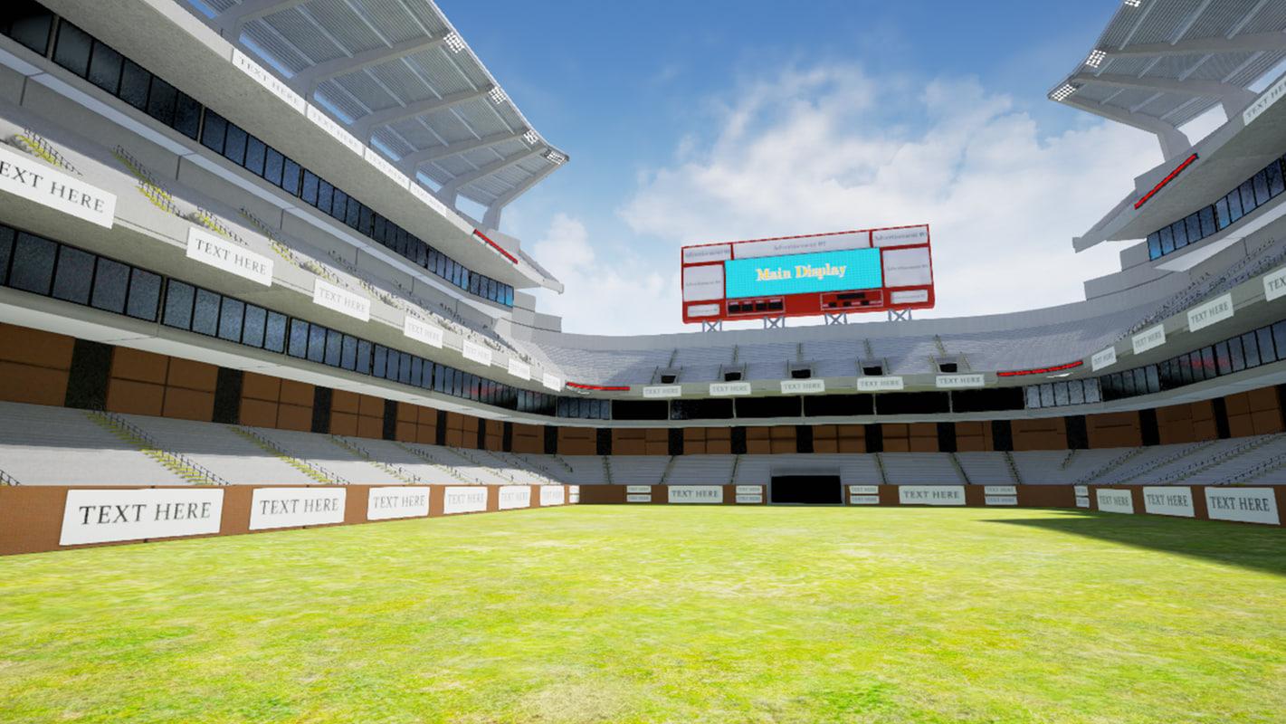 3D modular stadium kit