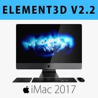 E3D - iMac Pro 27-inch Set 2017