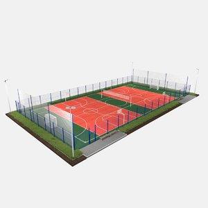 ground sport 3D