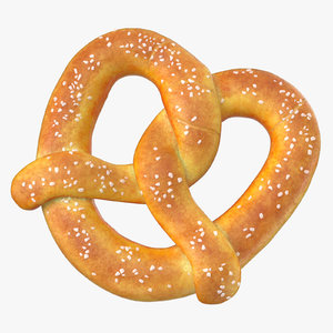 pretzel large 02 3D model