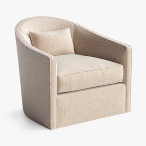 3D baker dima swivel chair