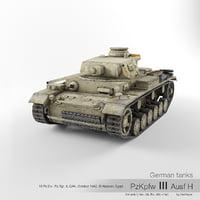 sd iii ausf h 3D model