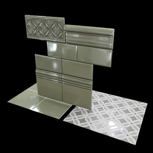 3D adex relieve gables eucalyptus