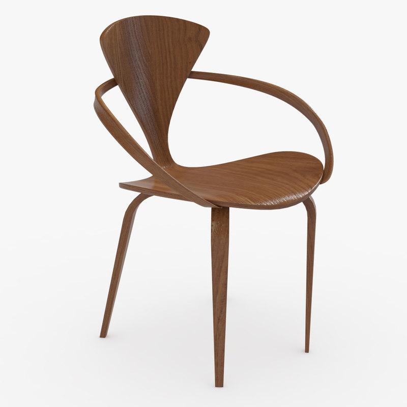 cherner chair 3D